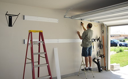 professional garage door service in Moore, OK